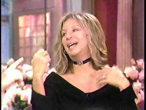 Barbra Streisand on the Rosie O'Donnell Show