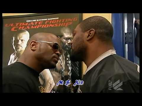Rampage Vrs Rashad  UFC 2010 * BEST FACE OFF * ! Who's The Bitch ! REMATCH PLEASE