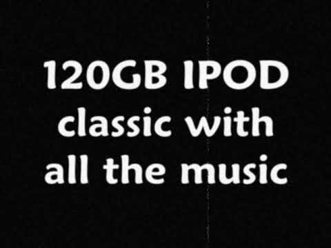 DANCAHALLISM BIG IPOD MUSIC SALE!!!!! (120GB CLASSIC With All The Music In My CHANNEL&MORE)