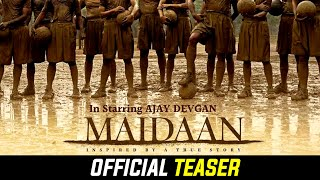 Cover images Maidaan First Look Poster Review | Ajay Devgan, Keerthy Suresh | Maidaan Movie