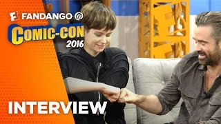 'Fantastic Beasts and Where to Find Them' Cast Interview - COMIC CON 2016