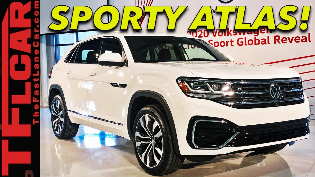 Volkswagen S Slightly Less Practical Atlas Cross Sport