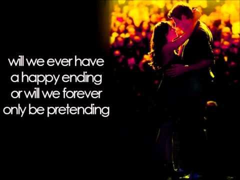 Glee - Pretending (Lyrics)