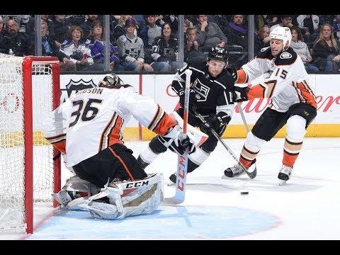Anaheim Ducks vs Los Angeles Kings - January 13, 2018 | Game Highlights | NHL 2017/18