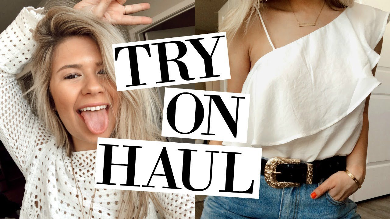 spring try on haul + outfit ideas ♥ 1