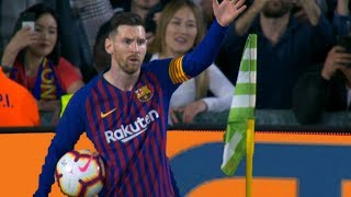 Lionel Messi  Top 10 Supreme Performances in 2018/19   With Commentaries