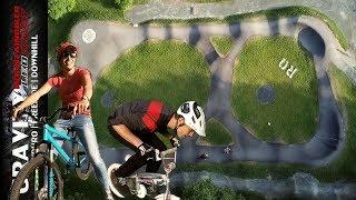 ERSTER RIDE mit Dirtbike   Pumptrack Action & Race Battle gegen Andi Schuster   Leo Kast UMLK #111