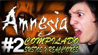 AMNESIA - COMPILADO DE SUSTOS Y REACCIONES #2 (Y MOMENTOS GRACIOSOS) - CON ALFREDITO