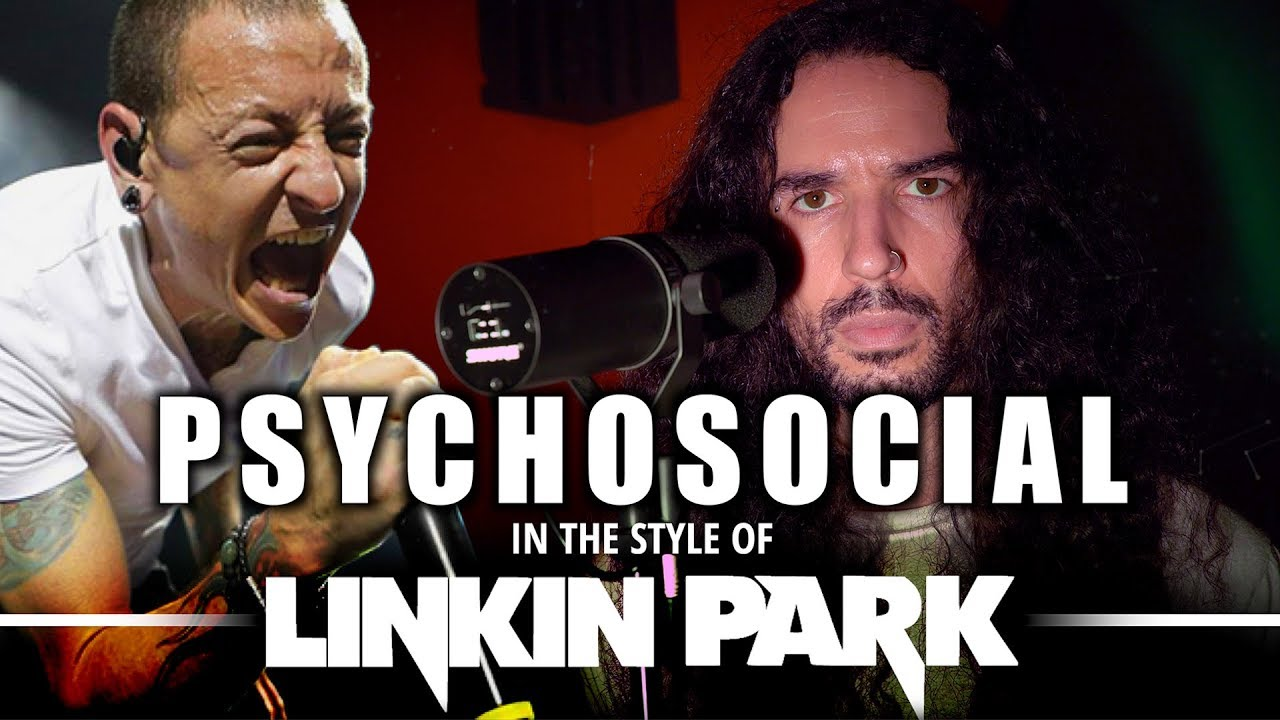 Psychosocial in the style of Linkin Park