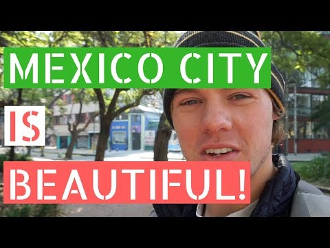 Mexico City is Beautiful!  (Condesa and Parque México) // Gringos in Mexico City Vlog