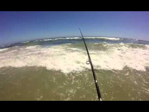Brigantine surf fishing 2015 youtube for Brigantine fishing report