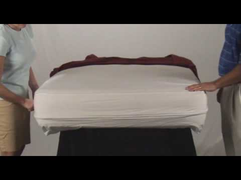 How to install an Allergy Armor Mattress Cover?
