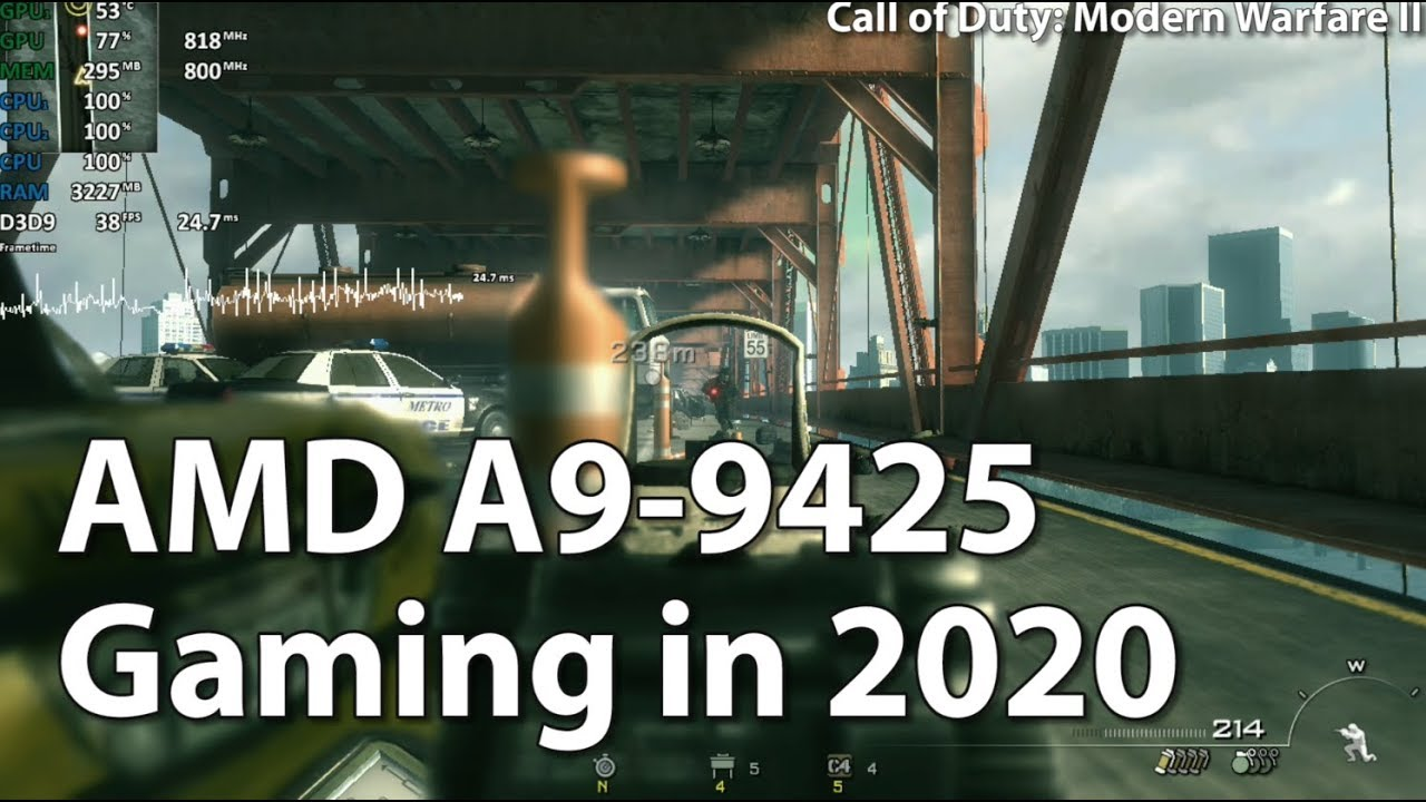 Gaming On Amd A9 9425 R5 Apu In 2020 A9 9420 A9 9410 Youtube