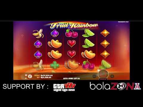 "Game Slot Pragmatic "" Fruit Rainbow "" Deposit Via Pulsa Online"