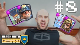 RUSEV IS IN CESARO's CLASH ROYALE CLAN?! — Clash with Cesaro #8
