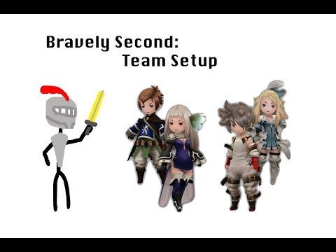 Bravely Second: Team Setup