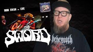 "THE SWORD ""Iron Swan""  LIVE  (Reaction)"