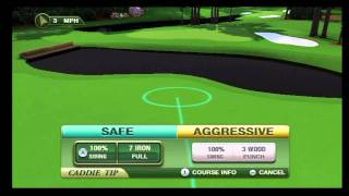Tiger Woods PGA TOUR 12: The Masters, Wii - Caddie System
