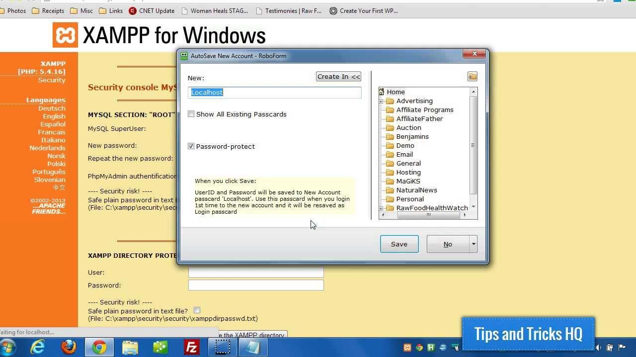 how to use wordpress on xampp