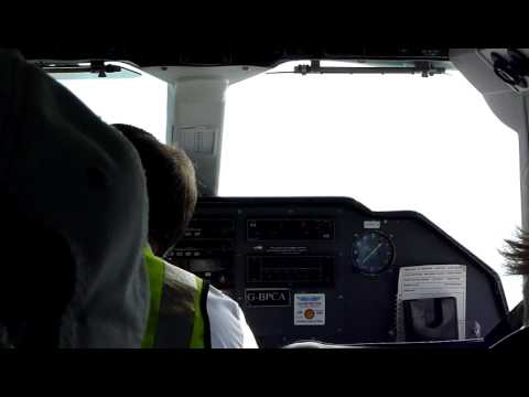 the world's shortest scheduled airline flight - YouTube