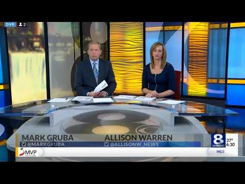 WROC News 8 at Sunrise open (10-27-17)