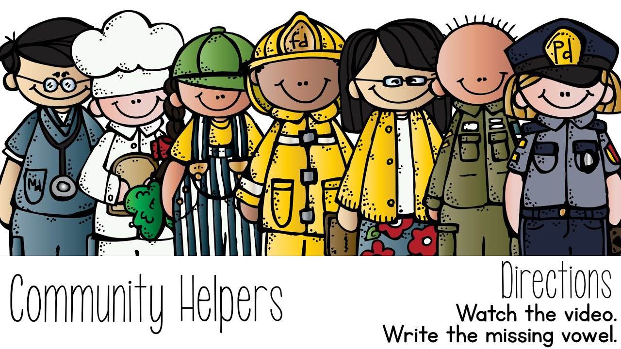 small resolution of community helper clipart