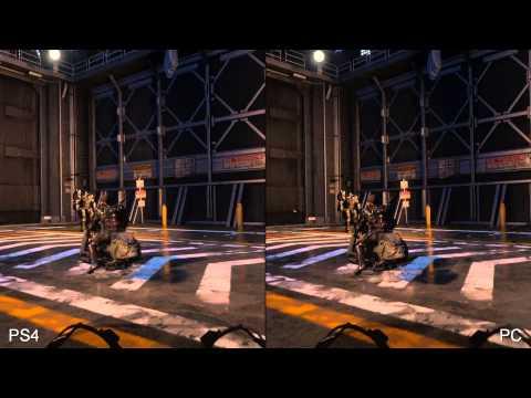 Call of Duty: Advanced Warfare: PS4 vs PC comparison