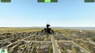Arma 2: Avgani flight in UH-60 on Mac Pro