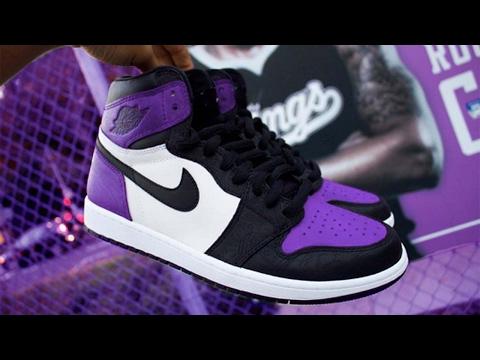 301794d0cc2 Air Jordan 1 Ultra Purple Custom! - YouTube