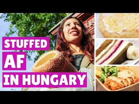ALL YOU CAN EAT FOOD VLOG: BUDAPEST 😋