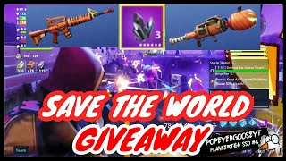 GIVEAWAY-Moon Glow 130 Gravedigger et 130 Jack O Launcher-Fortnite Save The World