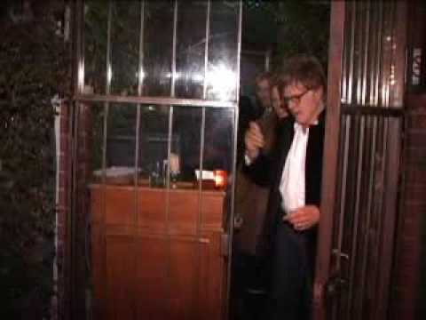 Robert Redford and daughter amy redford leaving L.A restaurant