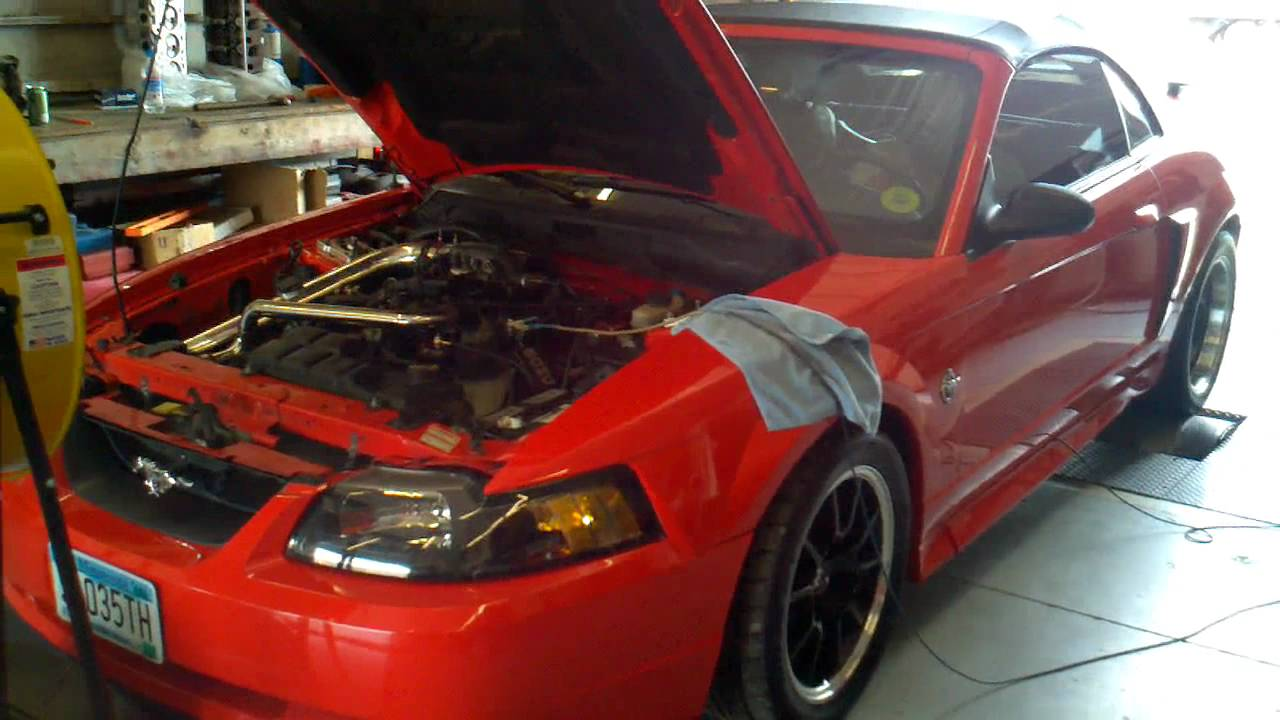 99 mustang turbo 2 valve dyno pull 2 11 lbs on3performance turbo kit
