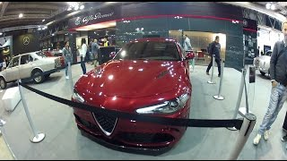 Nuova Alfa Romeo Giulia QV 510hp, Abarth 124 Spider & Fiat 124 | Snack Video