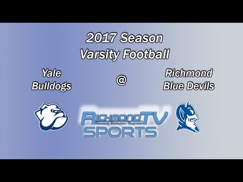 RTV Sports: Varsity Football - Yale Bulldogs vs. Richmond Blue Devils