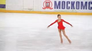 Александра Трусова, ПП, старшие девочки, Мемориал Волкова 2016