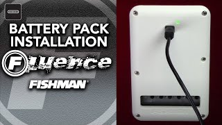Fishman Fluence Strat Battery Pack Installation