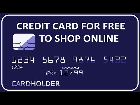 Get A Credit Card For Free To Shop Online By Using This Trick ! - Technical Toons