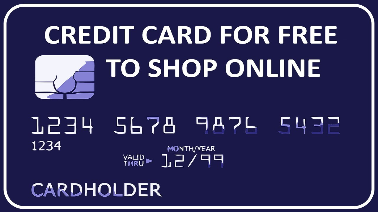 Get A Credit Card For Free To Shop Online By Using This Trick ! - 9 Tech  Tips