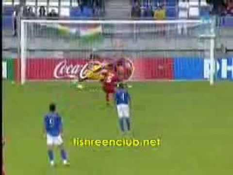 Syria's 1st goal on Italy (2005 youth world cup)