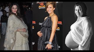 10 Celebrities who got pregnant before Marriage