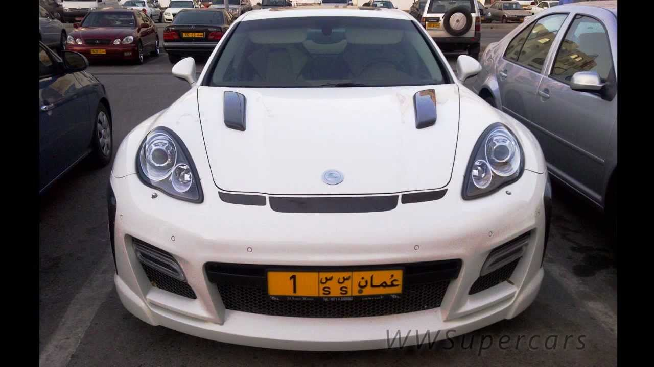 Porsche Fab Design Panamera In Muscat Oman Youtube