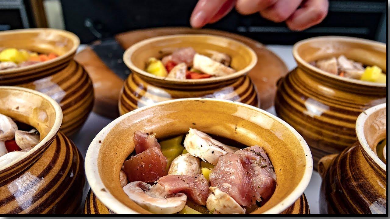 Мясо с картошкой в горшочках в духовке, пошаговый рецепт! Тот, кто готовит жаркое...