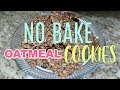 EASY NO BAKE COOKIE RECIPE| Cook With Me Dessert Edition