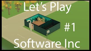 Software Inc Let's Play -  E.1 -  Tyme Studios!