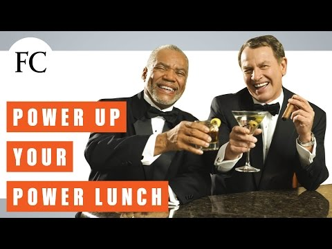 The Dos and Don'ts of Power Lunching