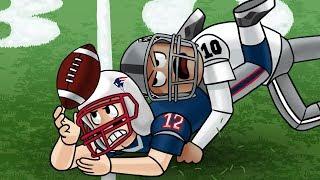Roblox | NFL FOOTBALL: Patriots vs Packers! (Roblox NFL Adventures)