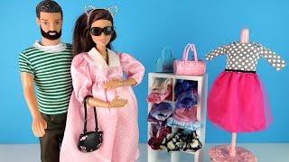 БЕРЕМЕННОЙ МАМЕ НЕЧЕГО НАДЕТЬ? Мультик #Барби Катя и Семья Куклы Игрушки для девочек
