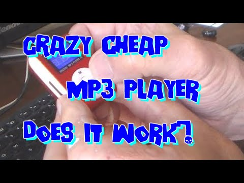 Mini MP3 Music Player - From China, £2 Post Free? ' Unboxing' And Using.