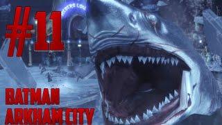 Batman Arkham City - #11 - Pinguim,Tubarão,Stealth e Fails !!! (PC-Leg Pt-Br)